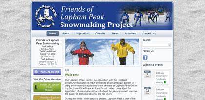 Snowmaking-Lapham Peak Friends
