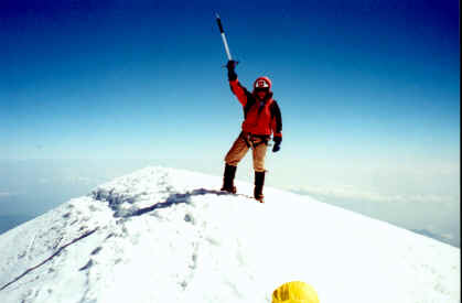 Pico de Orizaba Summit